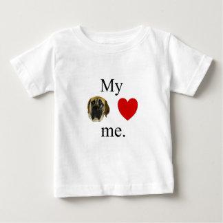 My mastif loves me tee shirt