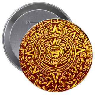 My Mayan Calendar (Pin-On Button) Pinback Buttons