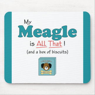 My Meagle is All That! Mouse Pad