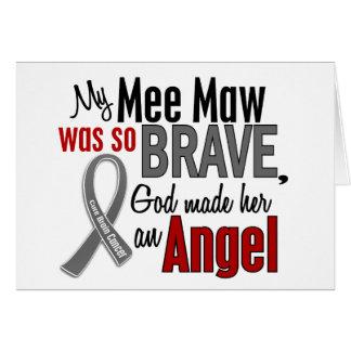 My Mee Maw Is An Angel 1 Brain Cancer Greeting Card