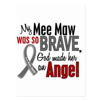 My Mee Maw Is An Angel 1 Brain Cancer Postcard