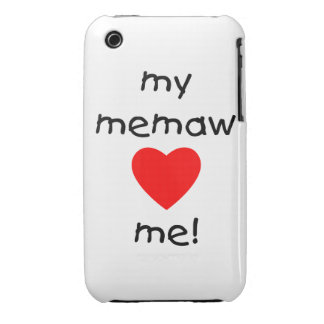 My memaw loves me Case-Mate iPhone 3 case