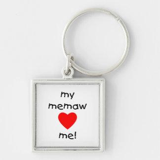 My memaw loves me keychain