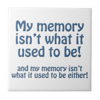 My Memory Ceramic Tile