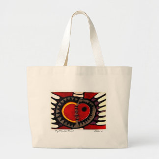 My Mended Heart Large Tote Bag