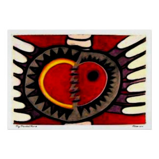 My Mended Heart ~ Oil by Aleta Poster