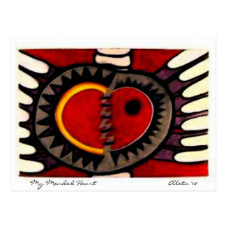 My Mended Heart Postcard