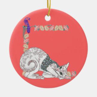 My Mendhi Mau Christmas Ornaments
