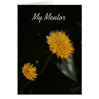 My Mentor Card
