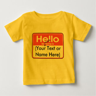 My Middle Name is (Blank) Custom and Personalized T-shirt
