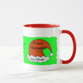 My Milk For Santa - Children's Customizeable Mug
