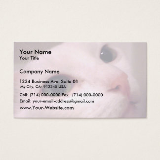 My Milonga Cat Business Card