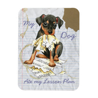 My Min Pin Ate my Lesson Plan Magnet