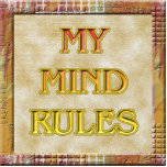 My Mind Rules Photo Sculpture