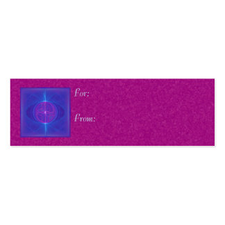 My Mind's Eye Abstract Art Double-Sided Mini Business Cards (Pack Of 20)