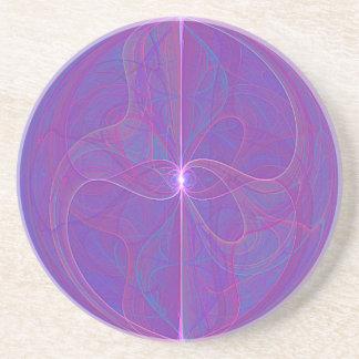 My Mind's Eye Abstract Art Coaster
