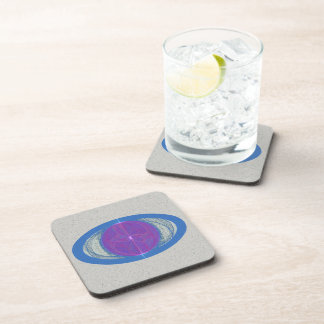 My Mind's Eye Abstract Art Drink Coaster