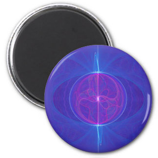 My Mind's Eye Abstract Art 2 Inch Round Magnet