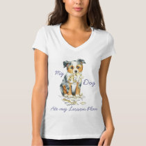 My Mini American Shepherd Ate My Lesson Plan T-Shirt