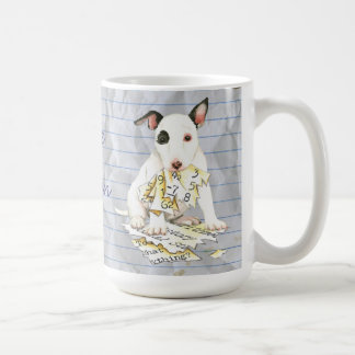 My Miniature Bull Terrier Ate my Lesson Plan Coffee Mug