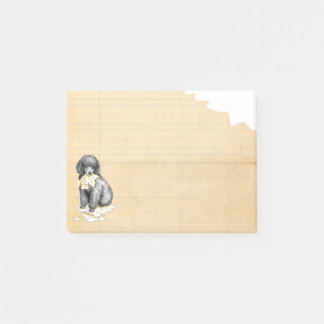 My Miniature Poodle Ate my Homework Post-it Notes
