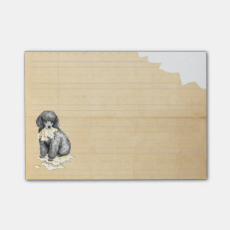My Miniature Poodle Ate my Homework Post-it® Notes