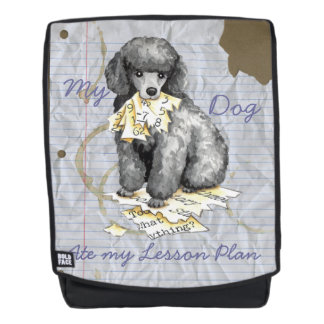 My Miniature Poodle Ate my Lesson Plan Backpack