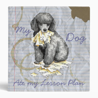 My Miniature Poodle Ate My Lesson Plan Binder