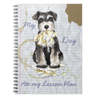 My Miniature Schnauzer Ate My Lesson Plan Journal