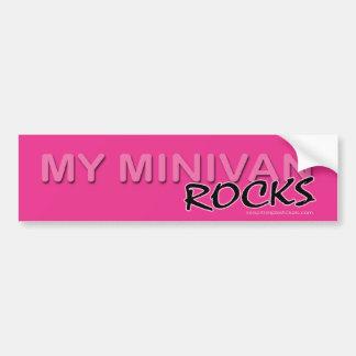 My Minivan ROCKS! Car Bumper Sticker