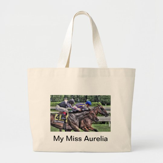 "My Miss Aurelia ""The Adirondack"" Large Tote Bag"