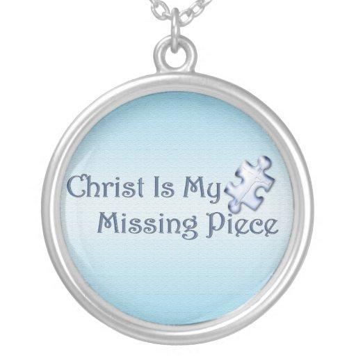 My Missing Piece Religious Pendant