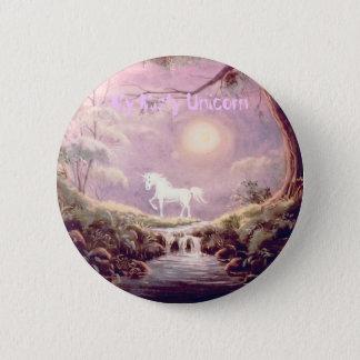 My Misty Unicorn Button