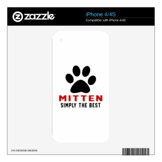 My Mitten Simply The Best Skins For The iPhone 4S