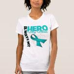 My Mom Always My Hero - Ovarian Cancer Shirt