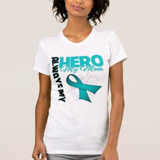 My Mom Always My Hero - Ovarian Cancer T-shirts