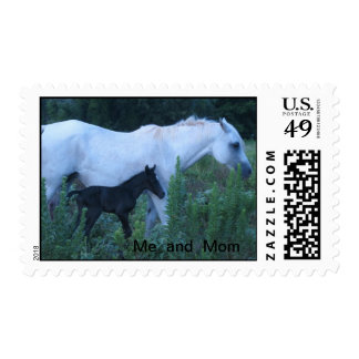 my mom  and  me postage stamps