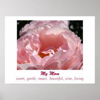 My Mom art sweet, gentle, smart, beautiful, loving Posters