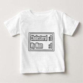My Mom Beat Cholesterol (Scoreboard) Baby T-Shirt
