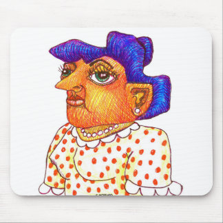 My Mom Betty Mouse Pad