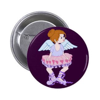 My Mom Gave Me Wings Button