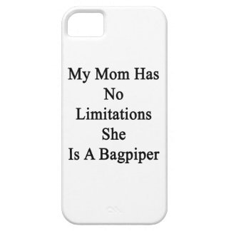 My Mom Has No Limitations She Is A Bagpiper iPhone SE/5/5s Case