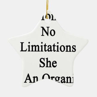 My Mom Has No Limitations She Is An Organist Ceramic Ornament