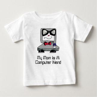 My Mom Is A Computer Nerd Geek Shirt for Babies