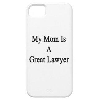 My Mom Is A Great Lawyer iPhone 5 Cases