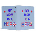 My Mom Is A Hero Binder