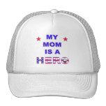 My Mom Is A Hero Mesh Hat