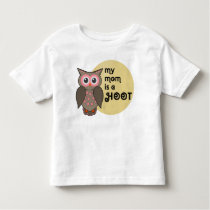 My mom is a hoot owl. Dad too. Toddler T-shirt
