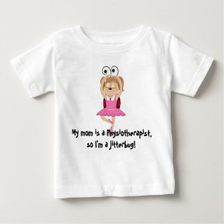 My mom is a physiotherapist jitterbug t-shirt