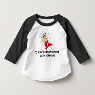 My mom is a Physiotherapist, jitterbug toddler T-shirt